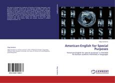 Buchcover von American-English for Special Purposes