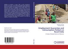 Bookcover of Employment Guarantee and Consumption Pattern in Rural India