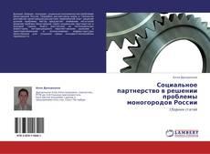 Bookcover of Социальное партнерство в решении проблемы моногородов России