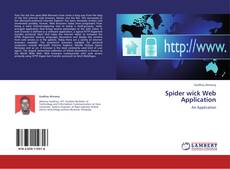 Couverture de Spider wick Web Application