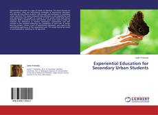 Buchcover von Experiential Education for Secondary Urban Students