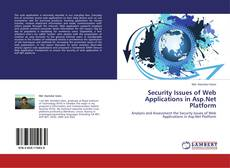 Bookcover of Security Issues of Web Applications in Asp.Net Platform