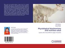 Portada del libro de Physiological biochemistry and nutritive value
