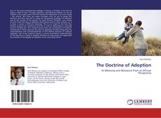 Couverture de The Doctrine of Adoption