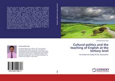 Couverture de Cultural politics and the teaching of English at the tertiary level