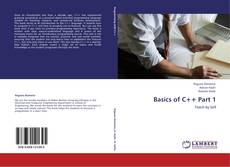 Capa do livro de Basics of C++ Part 1