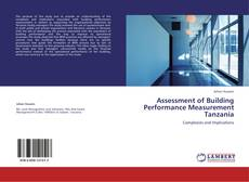 Buchcover von Assessment of Building Performance Measurement Tanzania