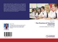 The Practice of Teaching Listening的封面