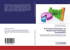 Capa do livro de A Practical Overview on Automated Software Testing(AST)