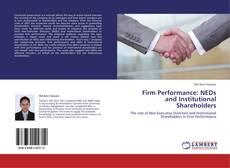 Firm Performance: NEDs and Institutional Shareholders kitap kapağı