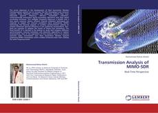 Capa do livro de Transmission Analysis of MIMO-SDR