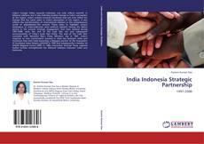 Buchcover von India Indonesia Strategic Partnership