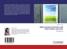 Couverture de Open Access Journals and Paid Online Journals