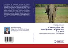 Couverture de Conservation and Management of Elephant Corridors