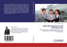 Couverture de NGO Management and Development