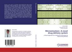 Microemulsion- A novel drug delivery system的封面