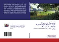 Couverture de Effects of Corporal Punishment Ban on High Schools in Zambia