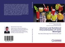 Buchcover von Chemical and Nutritional Characterization of some  Beverages