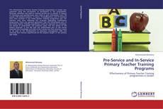 Portada del libro de Pre-Service and In-Service Primary Teacher Training Programs