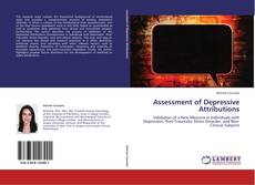 Bookcover of Assessment of Depressive Attributions