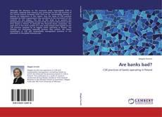 Buchcover von Are banks bad?