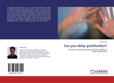 Couverture de Can you delay gratification?