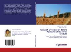 Research Overview of Barani Agricultural Research Institute kitap kapağı
