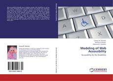 Couverture de Modeling of Web Accessibility