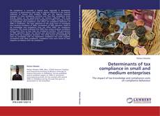 Buchcover von Determinants of tax compliance in small and medium enterprises