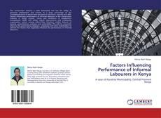 Couverture de Factors Influencing Performance of Informal Labourers in Kenya