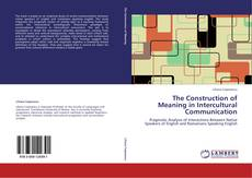 Buchcover von The Construction of Meaning in Intercultural Communication