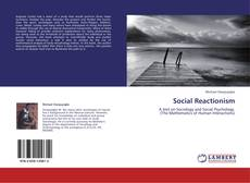 Buchcover von Social Reactionism