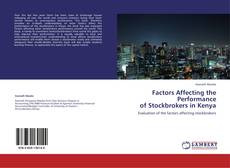 Bookcover of Factors Affecting the Performance    of Stockbrokers in Kenya