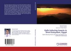 Bookcover of Galls Inducing Insects in Sinai Ecosystem, Egypt
