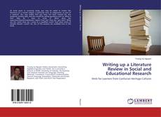 Bookcover of Writing up a Literature Review in Social and Educational Research