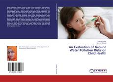 Copertina di An Evaluation of Ground Water Pollution Risks on Child Health