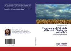 Entrepreneurial Potentials of University Students in Agriculture的封面