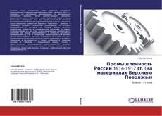 Portada del libro de Промышленность России 1914-1917 гг. (на материалах Верхнего Поволжья)