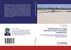 Buchcover von Halobacteria in Cape Comorin coast and metal remediation