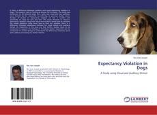 Capa do livro de Expectancy Violation in Dogs