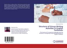 Bookcover of Structure of Group Writing Activities in English Textbooks