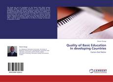 Buchcover von Quality of Basic Education In developing Countries