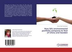 Capa do livro de How SA's environmental portfolio compares to that of China and Sweden