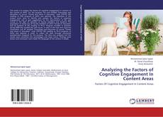 Buchcover von Analyzing the Factors of Cognitive Engagement In  Content Areas