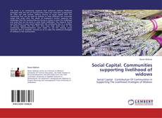 Bookcover of Social Capital. Communities  supporting livelihood  of widows