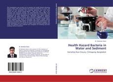 Buchcover von Health Hazard Bacteria in Water and Sediment
