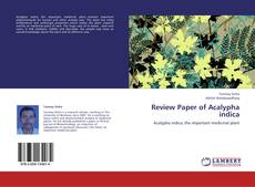 Bookcover of Review Paper of Acalypha indica