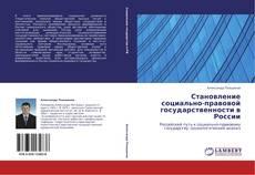 Bookcover of Становление социально-правовой государственности в России