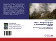 Capa do livro de Climate Change Mitigation and Adaptation in Indian Forests