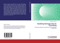 Portada del libro de Building Damage due to Tunneling